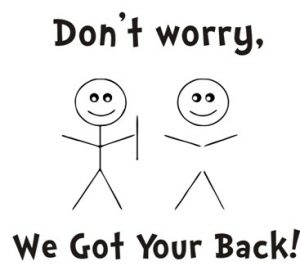 We Have Your Back! Ignoring DMCA when it is not legitimate is part of our service!
